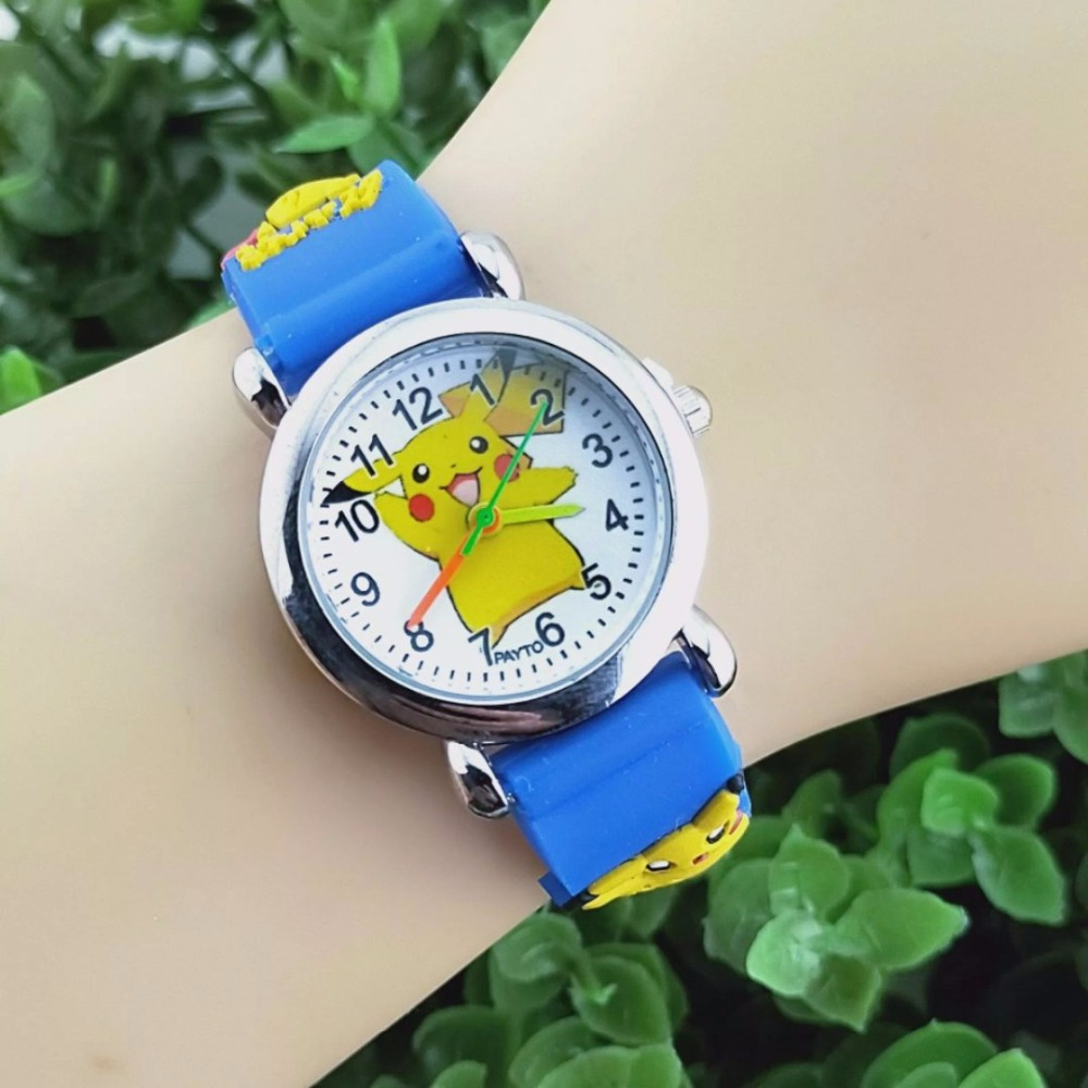 New Pikachu Boys And Girls Watch