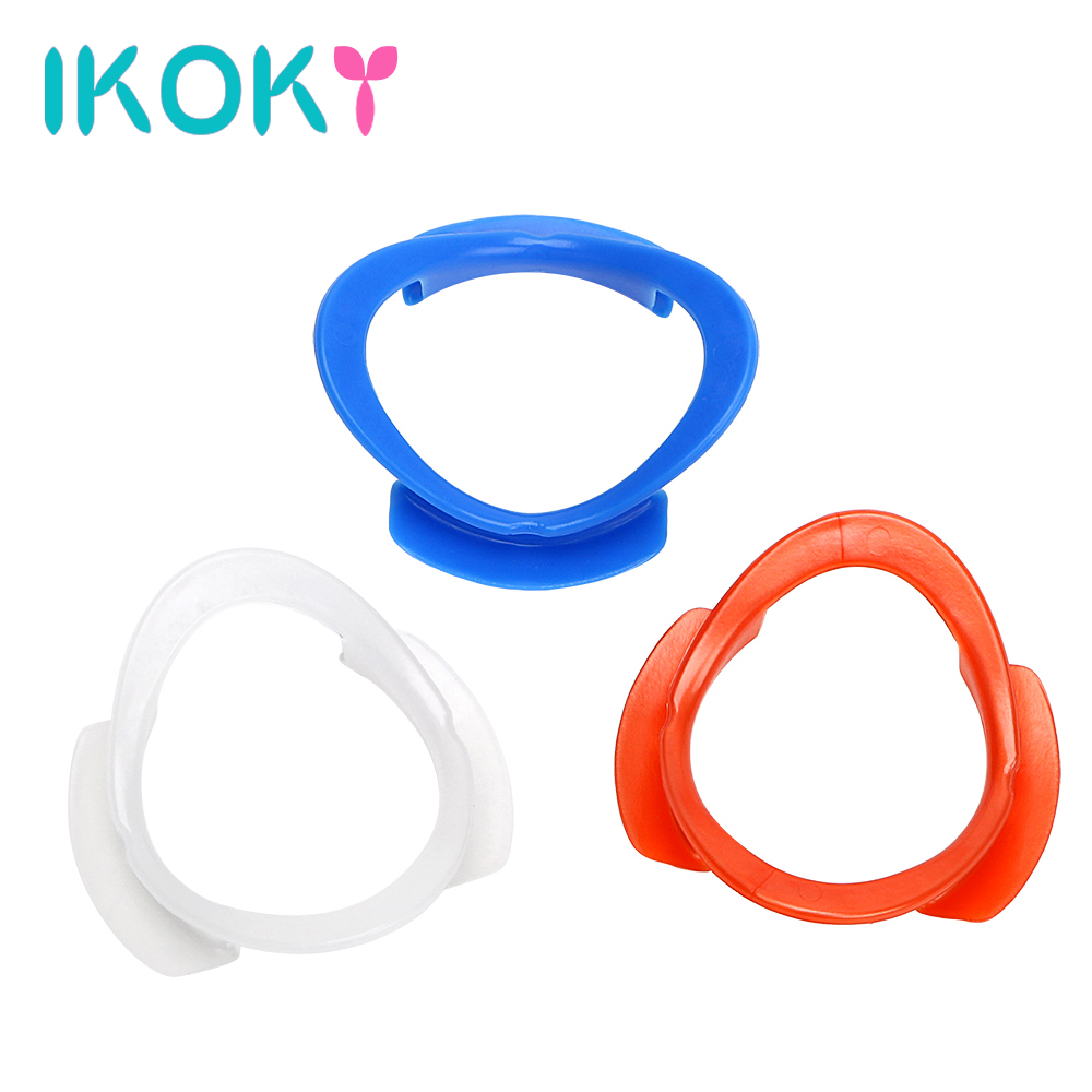 IKOKY Adult Games Open Mouth <font><b>Gag</b></font> Fetish O <font><b>Ring</b></font> Oral Fixation <font><b>Sex</b></font> Toys for Couples Mouth Opener Adult <font><b>Sex</b></font> Product Restraints image