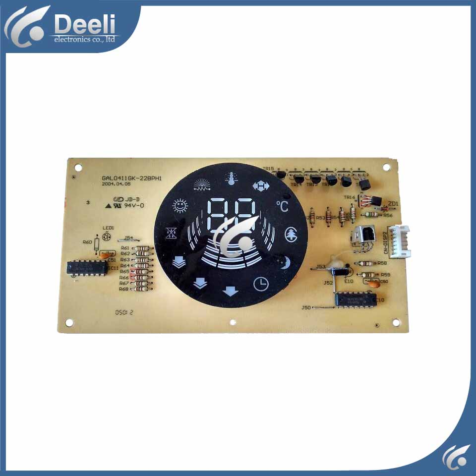 95% new good working air conditioning board display board GAL0411GK-22BPH1 used board все цены