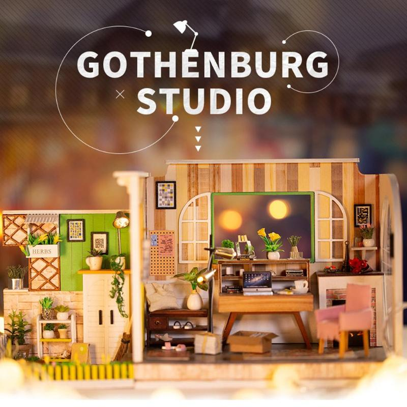 Gothenburg Studio DIY 3D Miniature House