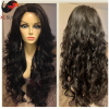 Top quality 150% density lace front human hair wigs virgin peruvian Hair wavy full lace wigs for black woman accept custom