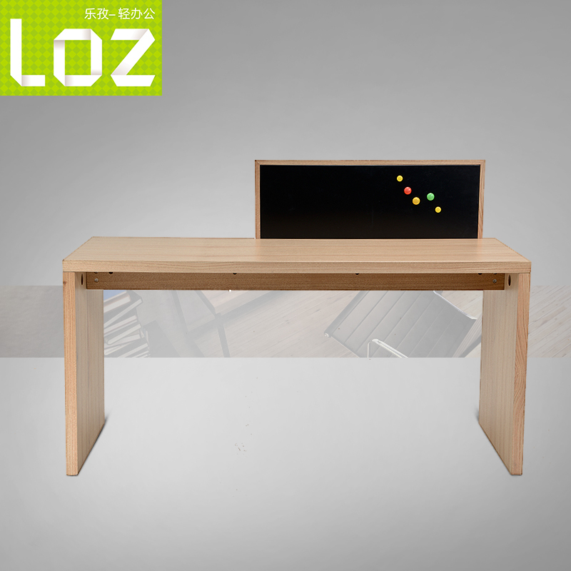 Yue Zi Simple Wooden Desk Laptop Computer Desk Desk Desktop Panel Desk  Simple Table In Computer Desks From Furniture On Aliexpress.com | Alibaba  Group