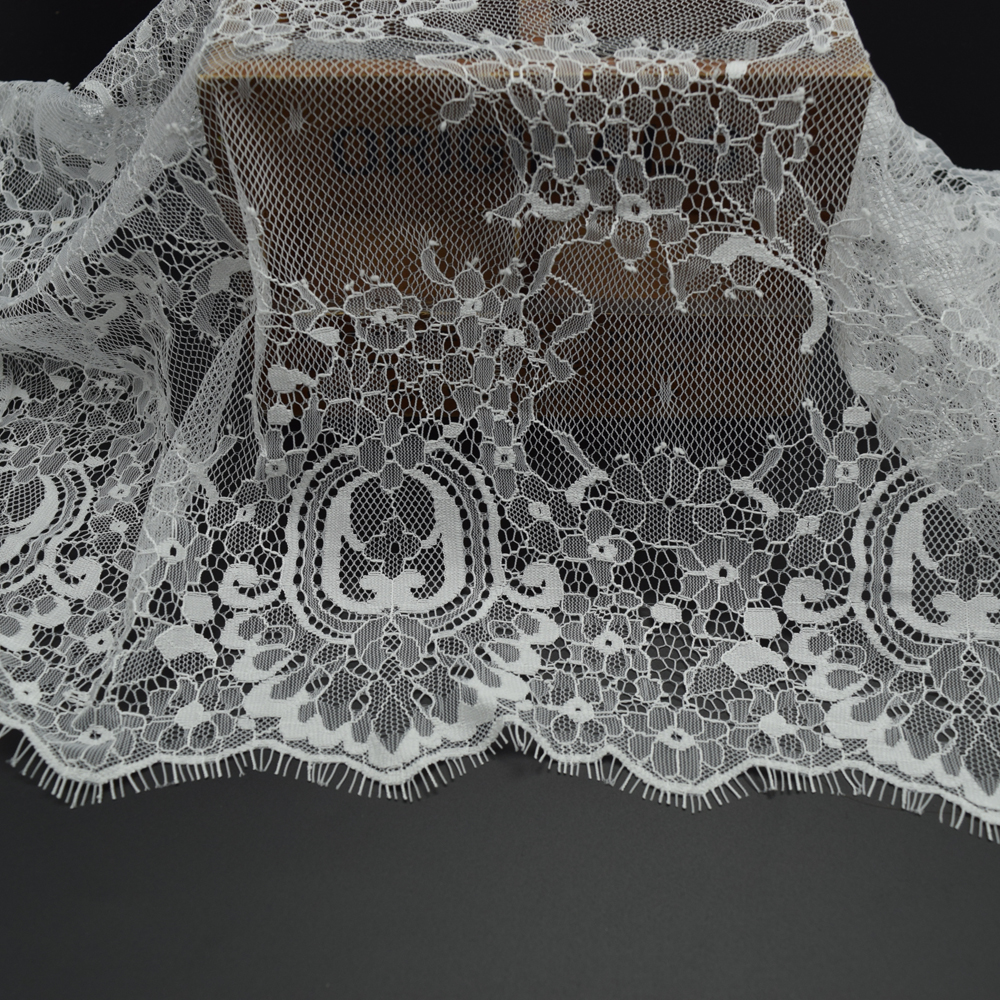 3yards Romantic Net Eyelash  soft Lace Fabric Wedding dress Doll - Arts, Crafts and Sewing - Photo 5