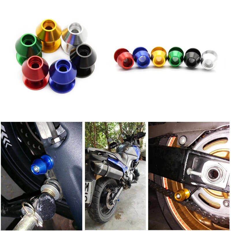 6MM8MM10MM Swingarm Spools Sliders for Suzuki Hayabusa Katana 650 750 SV650/S Vstrom 650 1000 TL1000R Motorcycle Stand Screw