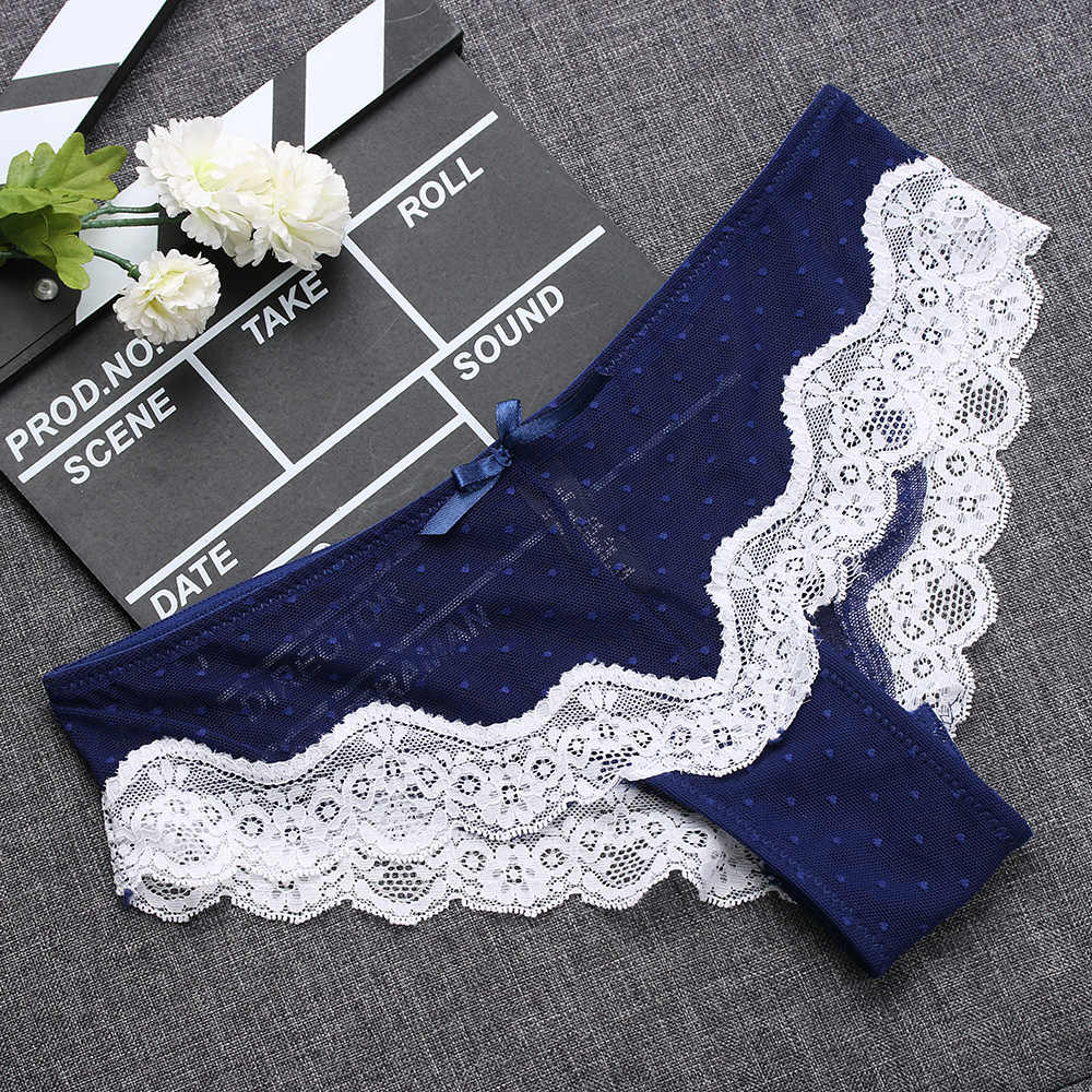 1PC Low-Rise Knickers Sexy  Hollow Briefs Ultra  Thin Underwear Lace Panties Soft  Hipster  Lingerie  Cute Lady Sleepwear