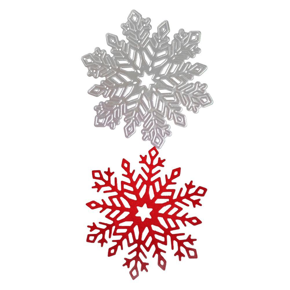 2018 Christmas SNOWFLAKE TOPPER Metal Cutting Dies Stencils for DIY Scrapbooking
