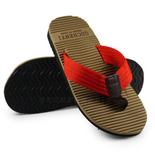 The New Summer Men'S Sandals Wholesale Fashion Beach Slippers Slip Eagle Burst Leather Slippers Head