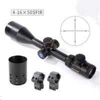 Shooter Tactical ST 4 16x50SFIR Rifle Scope With Light For Outdoor Hunting Shooting OS1 0351