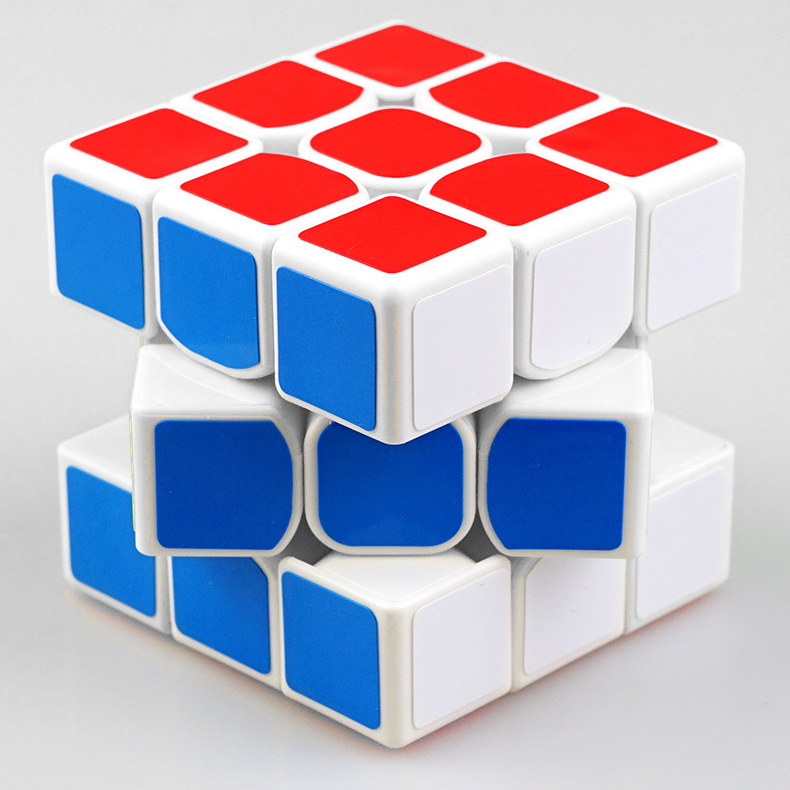 Clasic colorat 3x3x3 Trei straturi Magic Cube Profisional - Jocuri și puzzle-uri - Fotografie 3