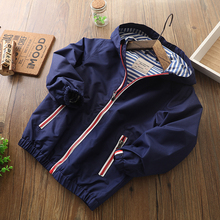 IYEAL Kids Clothes Children Outerwear Spring Autumn Jacket Coat Hooded Waterproof Windproof Baby Boys Jackets For 2-12Y недорого