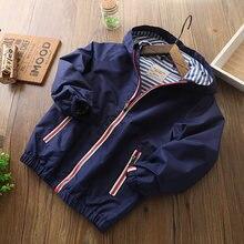 Iyeal детская одежда верхняя для детей пальто на весну осень