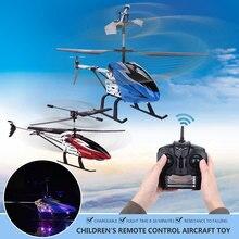 RC Máy Bay Trực Thăng RC Máy Bay Điều Khiển Từ Xa UAV Hợp Kim Led 3.5 Kênh 2.4 GHz Giáo Dục Cậu Bé Món Quà Thú Vị Từ Xa Bay Không Người Lái