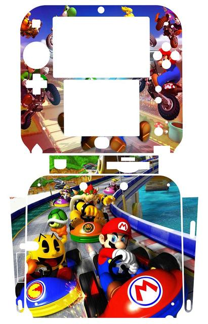 US $5 99 |Super Mario Kart 112 Vinyl Skin Sticker Protector for Nintendo  2DS skins Stickers-in Stickers from Consumer Electronics on Aliexpress com  |