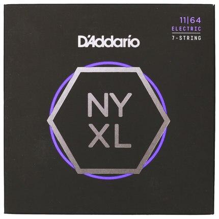 D'Addario NYXL Genişləndirilmiş Range 7-String 8 Simli Nikel - Musiqi alətləri - Fotoqrafiya 2