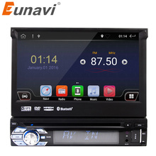 "Eunavi 7"" Universal 1 din Android 6.0 Quad Core Car DVD player GPS Navigation with Wifi Radio 2GB RAM 16GB Steering wheel RDS"