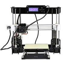 2017 качественно быстро дешево ! 3d принтер Anet A8 Prusa i3 точность Reprapс пластик для теста 8 ГБ SD карта в подарок! быстрая доставка из России! склад магазин сервис-центр в Москве
