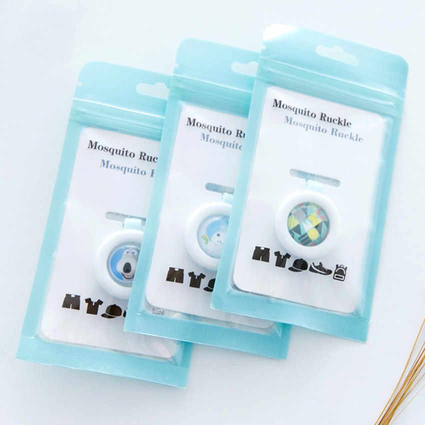 1pcs Anti-Muggen Gesp Waterdichte Wierook Repellent Guard Muggen Sticker killer Veilig voor Baby Kinderen Mosquito Clips #10