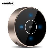 A6 Tragbare Drahtlose Verdrahtete TWS Bluetooth Lautsprecher Touch Panel Stereo Subwoofer AUX TF Karte MP3 Player mit Mic für Handy