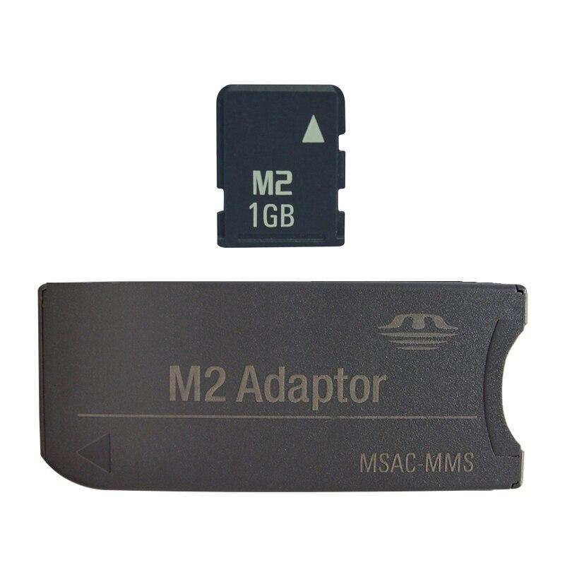2019 Big Promotion Original!!! M2 Memory Card 512MB 1GB 2GB 4GB 8GB Memory Stick Micro With Adapter MS PRO DUO