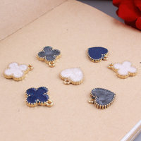 Wholesale 60PCs Lot 15MM Bling Glitter Love Heart Flower Enamel Alloy Pendant Charms Oil Drop Metal