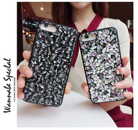 Luxury Bling Jewel Diamond Case Cover For Iphone 7 6S Plus 5S 4S Samsung Galaxy Note 5 4 3 2 S8 S7 S6 Edge Plus S5/4/3 A5/7/8