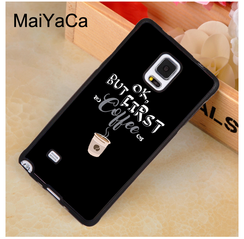MaiYaCa Gilmore Girls Coffee Quote Case For Samsung Galaxy A50 A70 A10 A20 A30 A40 Note 8 9 10 S8 S9 S10 Plus S10e S6 S7