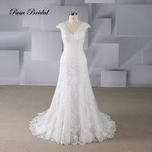 Rosabridal свадебное платье Русалочки цвета слоновой кости с