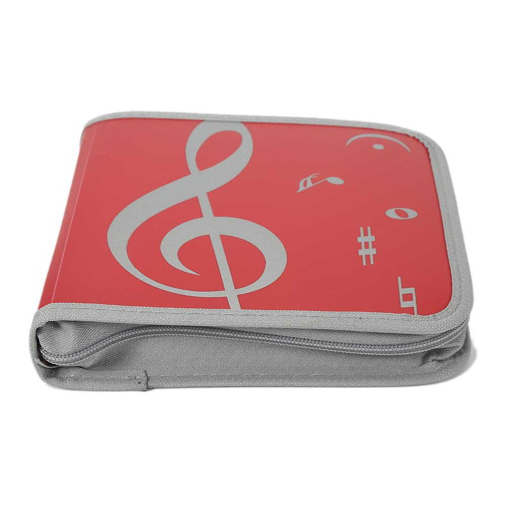 Fashion CD/DVD bags Holder Storage Bag of Oxford Cloth 24 Disc CD DVD Holder Storage Cover Case Org HAIA