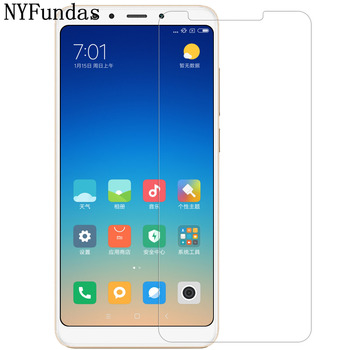 Transparent screen protector film for xiaomi redmi 5 plus Tempered glass film 9H Explosion-proof 0.25mm Ultra-thin 2.5D NOTE 5
