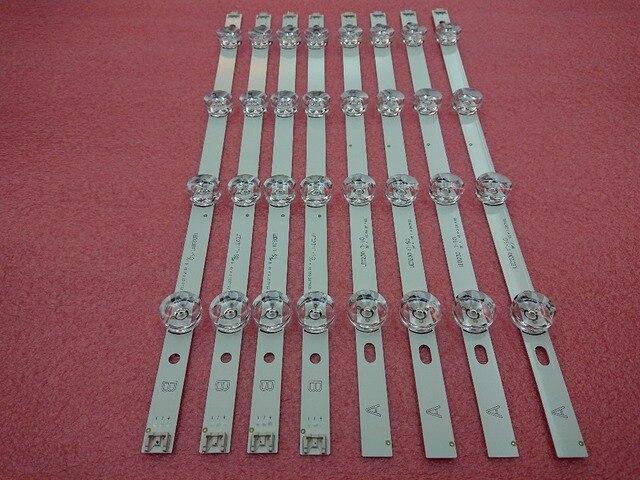 新 5 セット = 40 個 LED バックライトストリップ交換互換 lg 39 インチ 39LB5800 390HVJ01 イノテック ypnl DRT 3.0 を 39 b タイプ