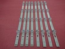 새로운 5 set = 40 pieces led 백라이트 스트립 교체 lg 39 inch 39lb5800 390hvj01 innotek drt 3.0 39 a b 타입