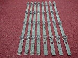 Image 1 - New 5set=40 Pieces LED backlight strip Replacement compatible for LG 39 Inch 39LB5800 390HVJ01 innotek DRT 3.0 39 A B type
