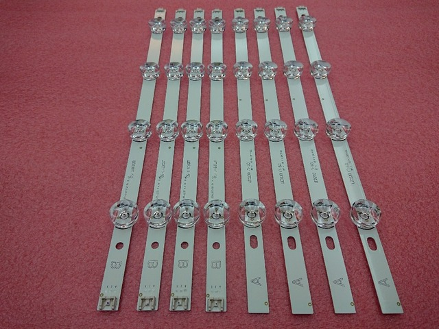 New 5set=40 Pieces LED backlight strip Replacement compatible for LG 39 Inch 39LB5800 390HVJ01 innotek DRT 3.0 39 A B type