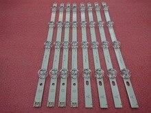 Nowy 5 zestaw = 40 sztuk listwa oświetleniowa led wymiana kompatybilny dla LG 39 Cal 39LB5800 390HVJ01 innotek DRT 3.0 39 A B typ