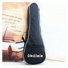 21″ 23″ 26″ Ukulele Cotton Padded Bag Guitar Straps Bag Case Cover Portable Guitars Backpack Musical Instruments Guitar Parts