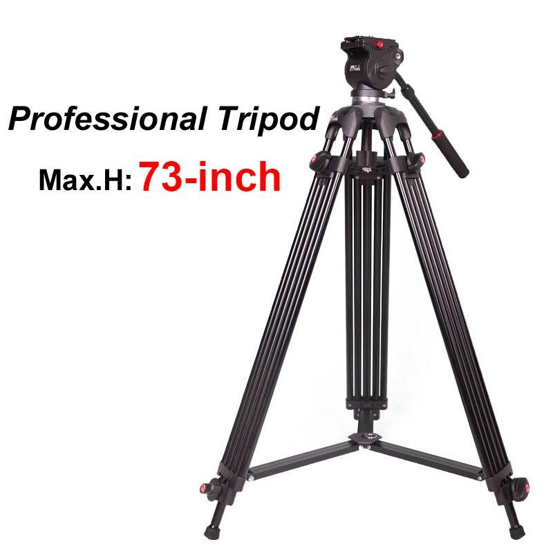 JY0508B 185 cm profesionalni video kamera tronožac s 360 stupnjeva - Kamera i foto - Foto 1