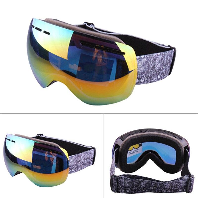 Profesional de Gafas de Esquí Doble Lente UV400 Anti-vaho Para Adultos Gafas de