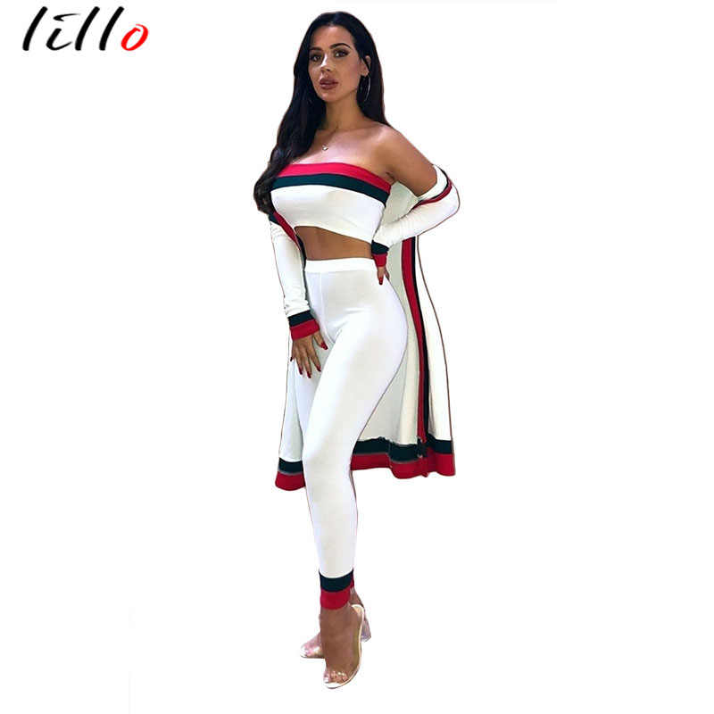 Detail Feedback Questions About 2019 Fashion Casual Sexy Striped Three Piece Suit Womens Suit Classic Black And White Red Striped Suit Jacket Trousers