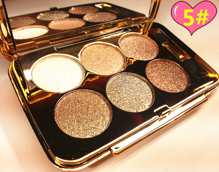 Buy Cheap Diamond Eyeshadow Nude Makeup Flash Eyeshadow Pallete 6colors Luminous Radiant Glitter Cosmetics Eye Makeup Tools Sombra De Olho Eye Shadow