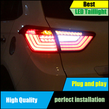 Car Styling For Hyundai Creta 2014-2018 IX25 taillights Full LED Tail Lamp Rear Trunk Light Moving turn signal+DRL+brake+reverse
