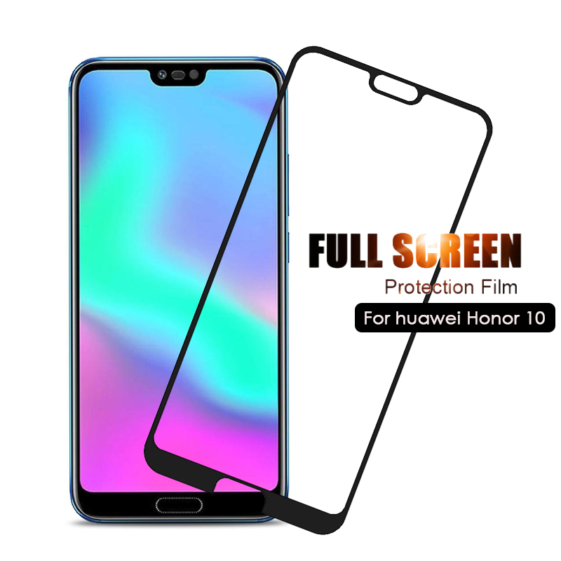 Tempered Glass For Huawei Honor 10 Protective Glass Screen Protector Honor 10 Glass Honor10 Film 5.84