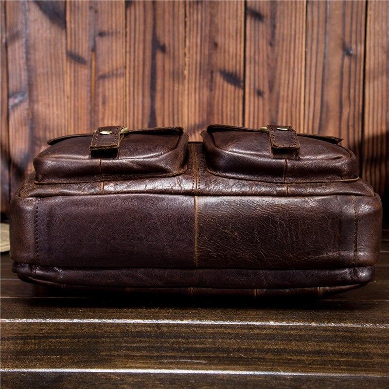 Schulter Mann Männlich Portfolio Männer Crossbody 1130 Aktentasche Für Handtasche Echte Rindsleder Öl qqFxXSw1H