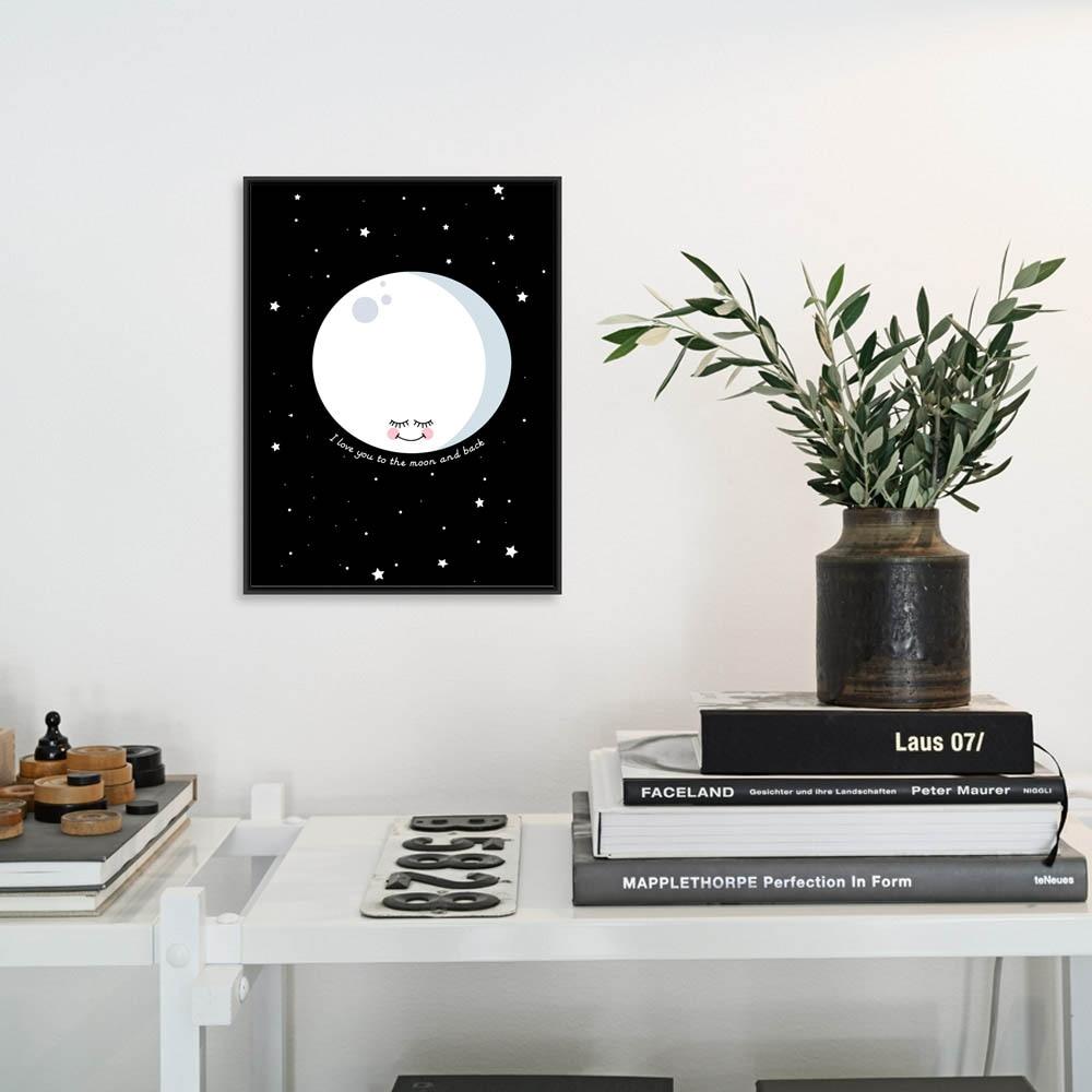 Decoración nórdica moderna para el hogar Kawaii Poster Cartoon on - Decoración del hogar - foto 3