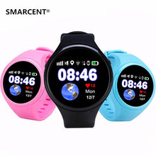 SMARCENT GPS Baby Smart Watch T88 with Wifi SOS Call Location Device Fitness Tracker for Kids Safe Anti-Lost Monitor PK Q90 Q50