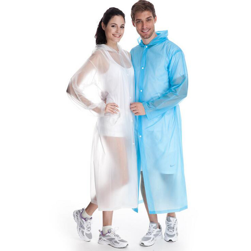 Candy Color Creative High Quality PVC Unisex Rainwear,Non-disposable Raincoats,Portable Rainwear for Men/Women XHH05619