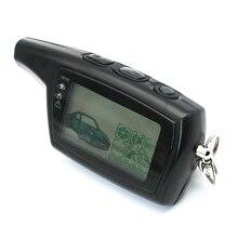 DXL 3000 LCD uzaktan kumanda anahtarlık rusça sürüm araç güvenlik iki yönlü araç alarm sistemi anahtarlık PANDORA DXL3000