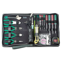 Pro'skit 1PK 618B Electrician Repair Tools Kit Electronics Electrical Appliances Household Maintenance Group Set Tools Bag