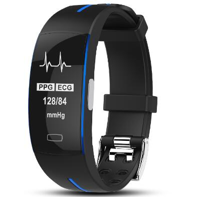 P3 Smart Wristband ECG+PPG Blood Pressure Heart rate watch smart Bracelet Fitness Tracker Smart band PK mi band 3 PK xiaomi band smart watch m19 heart rate fitness bracelet sleep monitor smart tracker blood pressure smart band color screen band pk mi band 3