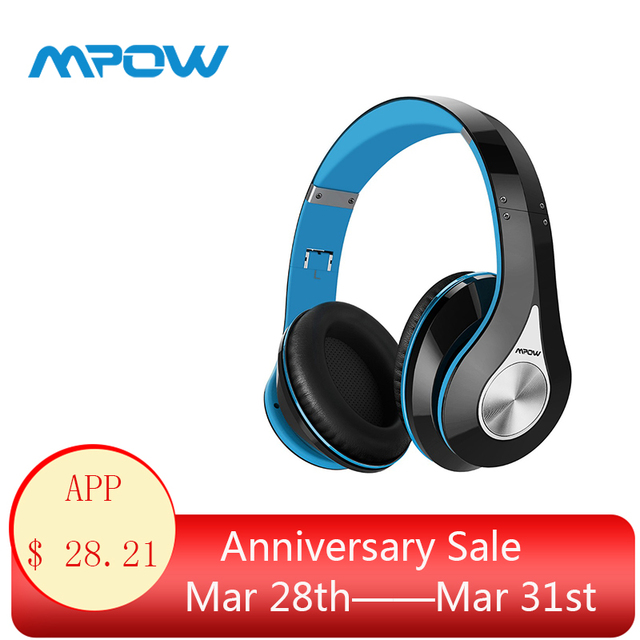 72d316afeeb90d Mpow 059 Over Ear Wireless Bluetooth Headphones HiFi Stereo Sound Headset  Noise Cancelling Headphones With Mic For iPhone XS/8/7