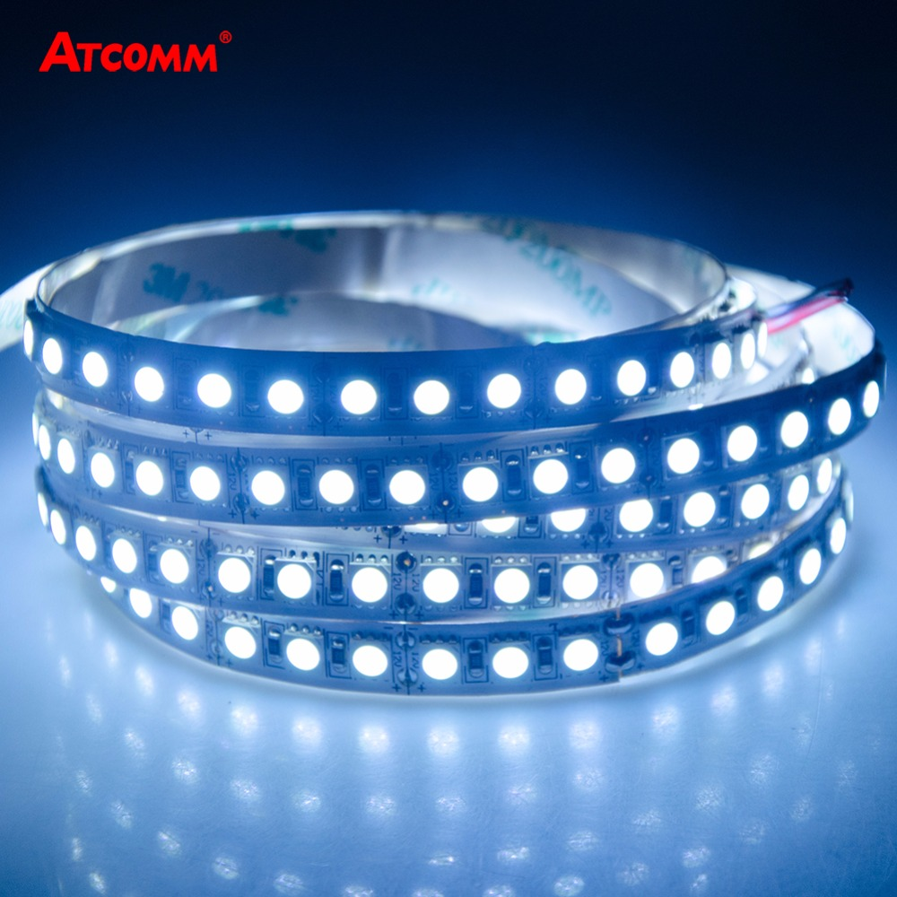5050 LED Strip Light 600 LEDs/5 Meters DC 12V/24V High Lumen Waterproof IP33 IP65 IP67 SMD 5050 LED Diode Ribbon Tape Light